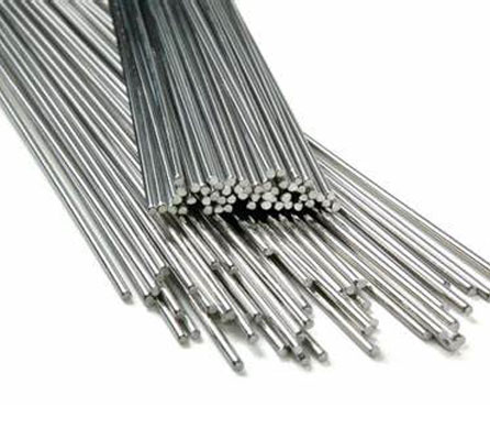 Stainless steel solid cored wire